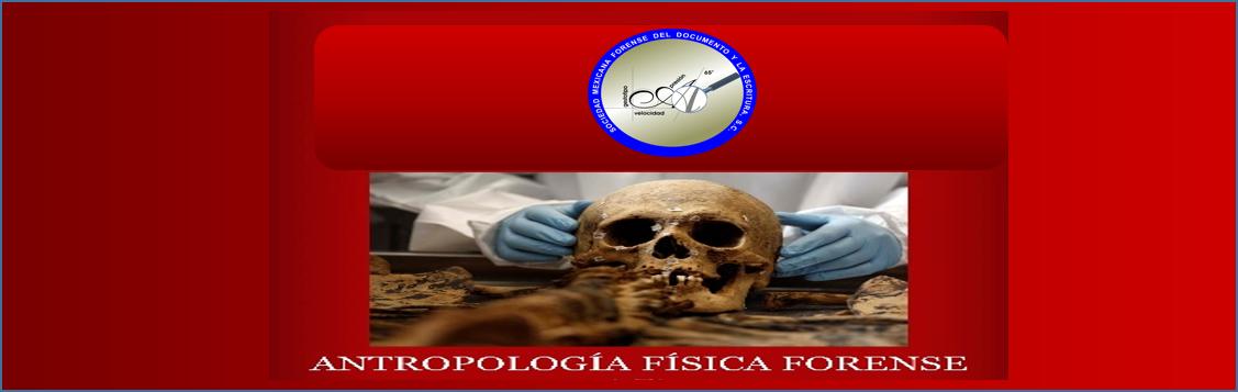 DIPLOMADO: ANTROPOLOGÍA FÍSICA FORENSE