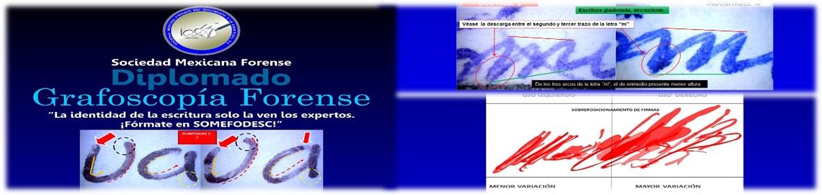 DIPLOMADO: GRAFOSCOPÍA FORENSE