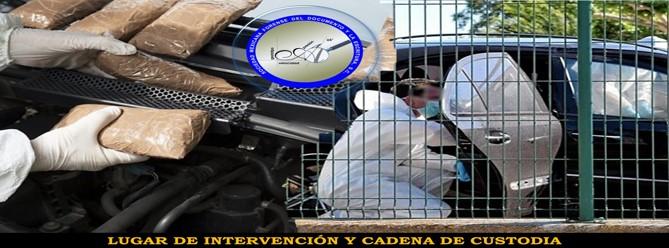 Curso: Lugar de Intervención y Cadena de custodia